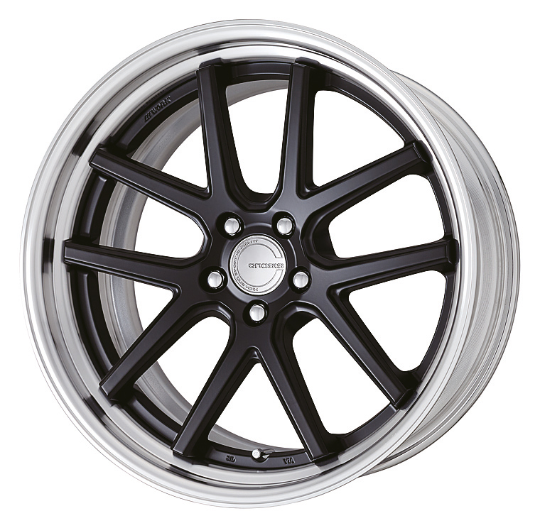Matt Black (MBL) STEP RIM