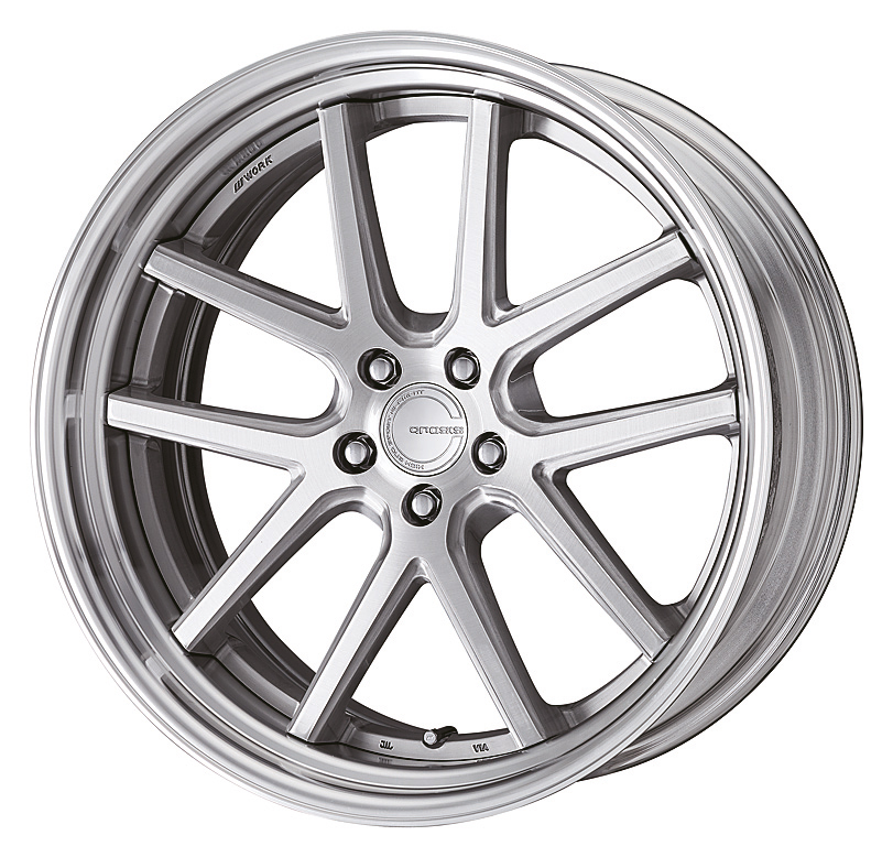 Brushed Silver Clear (BRU) STEP RIM